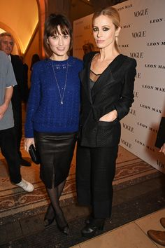 Alexandra Shulman and Leon Max hosted the opening of the National Portrait Gallery's Vogue 100 exhibition Laura Bailey, Christopher Bailey, Julia Hobbs, Erin O'connor, Sophie Dahl, Caroline Issa, Sarah Harris, Holly Fulton, Ideas