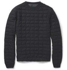 Lanvin Quilted Wool Sweater | MR PORTER