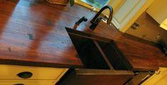 Wood Finish Concrete Countertop by Jeff Kudrick | CHENG Concrete Exchange