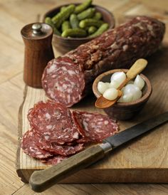 Wild boar salami - from the Cotswolds