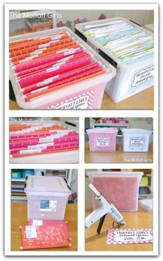 Clear the Paper Clutter: Monthly Organization