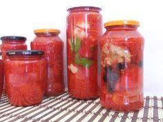 Cocina Sin Problemas: Conservas de tomate, preparado para gazpacho.
