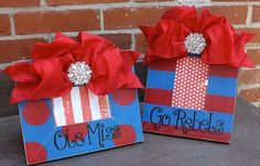 Cute Ole Miss frames to showcase your favorite photo!