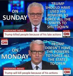 Liberal Hypocrisy, Political Corruption, Political Memes, Political Views, Political Opinion, Politicians, Cnn Live, Trump Is My President, Donald Trump Jr