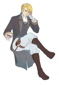 so basically armin arlert, who you think just looks like the trophy soldier of the recon corps but he's one of the most dangerous men in the room  (commission! spicytactician (HAHA I FOUND U) wanted older!armin in historical dress. AND WHO AM I TO...