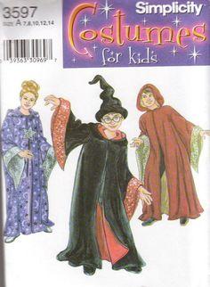 wizard boy Halloween Costumes | Wizard Costume Pattern for Boys and Girls Halloween Costume pattern