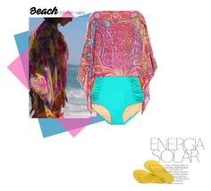 """""""Me"""" by theitalianglam ❤ liked on Polyvore featuring Magdalena, Etro and Havaianas"""