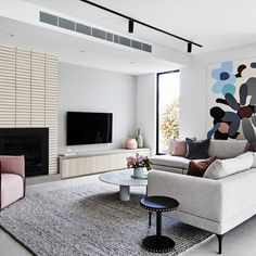 Living Room Design Ideas: Layout, Styling, Space, and Storage | Hunker Interior Styling, Interior Design, Room Goals, House And Home Magazine, New Age, Lounge, Photo And Video, Instagram Posts, Grateful