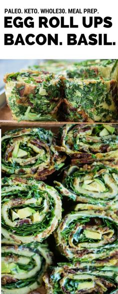 Egg Roll Up: Breakfast On the Go (Whole30, Paleo, Keto)