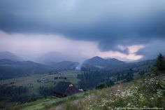Mountains rural landscape in thunderstorm | Flickr