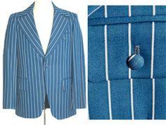 1970s Vintage Disco Jacket  Pants Suit | NeldasVintageClothing - Clothing on ArtFire