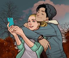 Bughead 3 Art Print by slashpalooza - X-Small Archie Comics Riverdale, Bughead Riverdale, Riverdale Memes, Betty Cooper, Disney Drawings, Cute Drawings, Riverdale Betty And Jughead, Betty & Veronica, Lili Reinhart And Cole Sprouse
