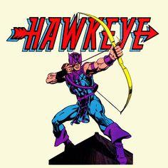 Hawkeye Marvel Comics T shirt retro 100% cotton graphic superhero movie tee #HanesGildanAnvil #GraphicTee