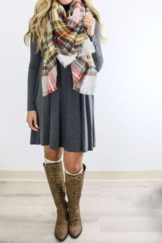 Add some leggings and it's winter ready!