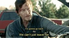 When he gave up everything to find Carol's daughter. | 26 Times Daryl Dixon Turned You On To The Point Of No Return