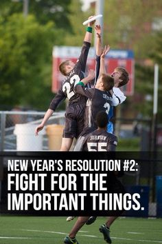 New Year's Resolution (Ultimate Frisbee)