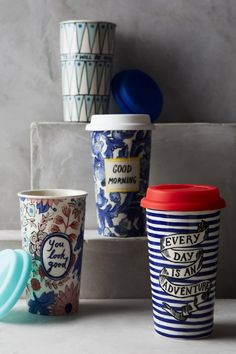 Shop the Sweet Salutation Travel Mug and more Anthropologie at Anthropologie today. Read customer reviews, discover product details and more.