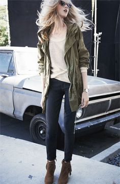 Just bought this and can now style this Willow & Clay Anorak, Heed Sweater & Paige Jeans | Nordstrom