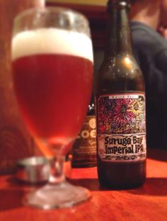 suruga bay imperial IPA, a craft beer from japan