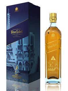 Johnnie Walker Blue Label Paris.