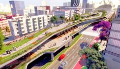 Mexico City's busiest avenue returning to residents as a stunning elevated public park | Inhabitat - Sustainable Design Innovation, Eco Architecture, Green Building