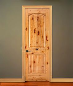 Estate Collection custom wood interior door inspired by oldworld