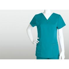 Grey's Anatomy 71139 2 Pocket V-Neck Super comfy... Polyester / Rayon.. Wont shrink or fade!!  Visit us online at www.accuwear.com Or call 1-(780)-489-3838
