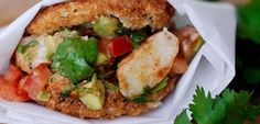 Brazilian Shrimp Fritters (Acarajé)–Black-Eyed Pea Fritters Stuffed with Shrimp