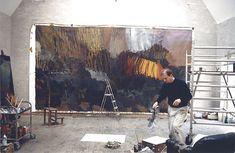 Per Kirkeby - studio
