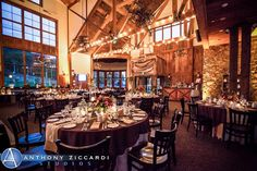 Mountain Creek Resorts Weddings - Price out and compare wedding costs for wedding ceremony and reception venues in Vernon Township, NJ Wedding Venue Prices, Rustic Wedding Venues, Wedding Costs, Lodge Wedding, Wedding Tables, Vernon Nj, Wedding Officiant Script, Restaurant Wedding, Warehouse Wedding