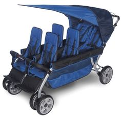 This thing is intense!  Glad I'm only having two!!  Foundations LX6 6-Passenger Stroller