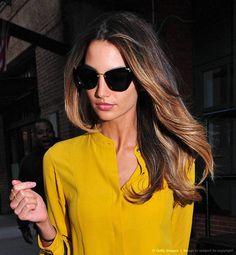 #Deep #Yellow #Shirt #Style #Women #Fashion