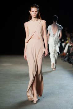 #jinnicouture Philosophy By Natalie Ratabesi fall 2014. Simple modern elegance meets age-old legend.
