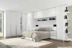 Armarios y altillos en dormitorios pequeños