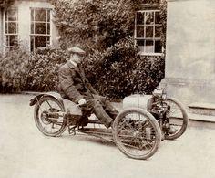 Old Reverse Trike    View EXCLUSIVE Images on Our Pinterest Page- Follow Us - http://pinterest.com/lcralliesinfo/    Ride safe,    JB  Biker Rallies Info - www.LightningCustoms.com