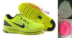 Mens Nike Air Max 2013 Volt Black Shoes