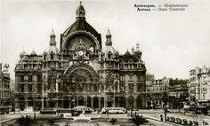 Antwerpen Centraal station year: 1920