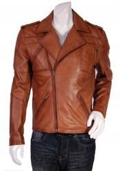 Choose stylish and popular leather jackets for men online in UK. Buy your desirable leather products at affordable rate in different designs and colors available in wide variety.
