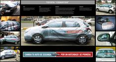 Toyota Yaris car cover fakes out owners ❯❯ See more at www.CreativeGuerrillaMarketing.com ❮❮