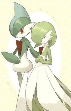 Gallade and Gardevoir Fan Art Pokemon, Pokemon Ships, Pokemon Comics, Pokemon Memes, Cool Pokemon, Pokemon Stuff, Photo Pokémon, Mega Gardevoir, Best Pokemon Ever