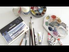Materiais Básicos para Começar a Pintar Aquarela