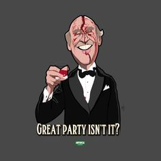 Awesome 'Great+Party' design on TeePublic!