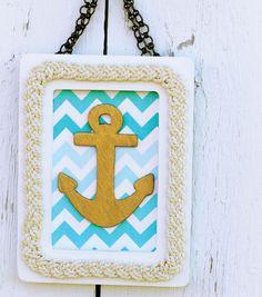 Cute Nautical Frame Idea from Joann.