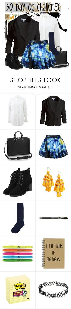 """""""30 Day OC challenge: Day two"""" by wibbly-wobbly-timey-wimey-dork on Polyvore featuring Brunello Cucinelli, Sans Souci, Brooks, Kate Spade and Monsoon"""