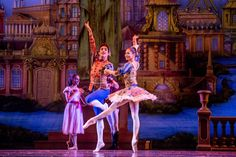 The Joffrey Ballet's Christine Rocas and Edson Barbosa in Wheeldon's 'The Nutcracker' - Photo by Cheryl Mann Productions