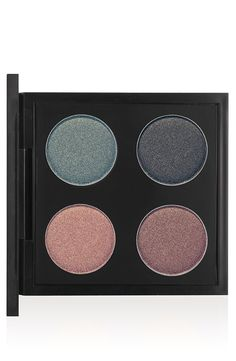 Pin for Later: This MAC Makeup Line Has Us Hot and Bothered An Amorous Adventure Eye Shadow Quad ($40) Sable (bottom left), Sex & The Oyster (top left), Brawn (bottom right), Black Tied (top right)