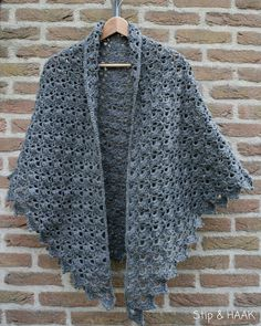 Crochet Shawl - Free Pattern Downloaded
