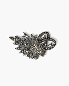 charming charlie | Flickering Flowers Brooch | UPC: 410006926417 #charmingcharlie