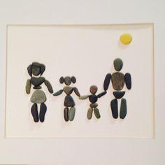 Family Fun Pebble Art