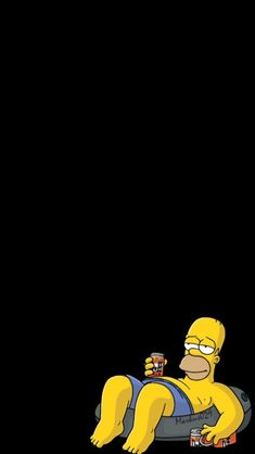 Bart Simpson Black Background In 2019 Iphone Wallpaper